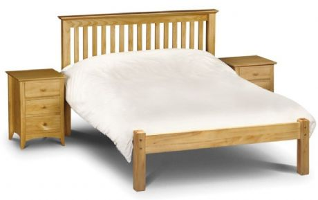 Barcelona Pine King Size Bed Low Foot End Sale Now On Your Price Furniture